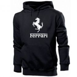 Толстовка логотип Ferrari - FatLine