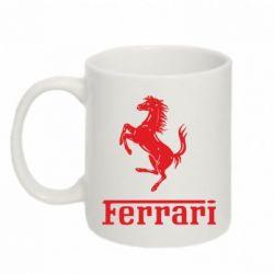 Кружка 320ml логотип Ferrari