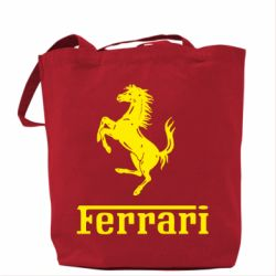 Сумка логотип Ferrari - FatLine
