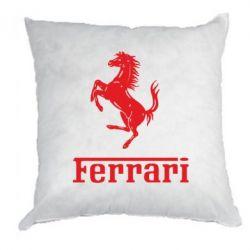 Подушка логотип Ferrari - FatLine
