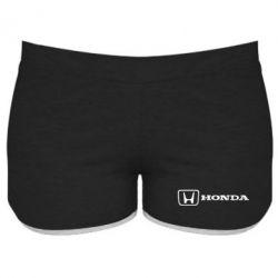 Женские шорты Логотип Honda - FatLine
