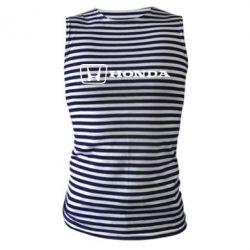 Майка-тільняшка Логотип Honda - FatLine