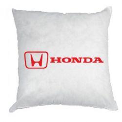 Подушка Логотип Honda - FatLine