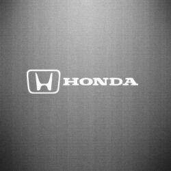 Наклейка Логотип Honda - FatLine