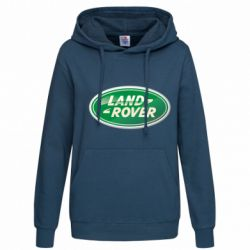 Женская толстовка Логотип Land Rover