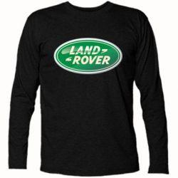 Футболка с длинным рукавом Логотип Land Rover - FatLine