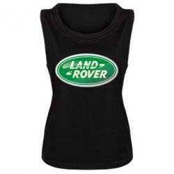 Женская майка Логотип Land Rover - FatLine