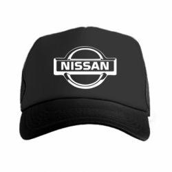Кепка-тракер логотип Nissan - FatLine