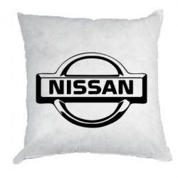 Подушка логотип Nissan - FatLine