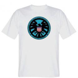 Мужская футболка Логотип Щита - FatLine