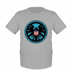 Детская футболка Логотип Щита - FatLine