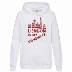 Женская толстовка Лондон