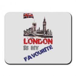 Коврик для мыши Лондон