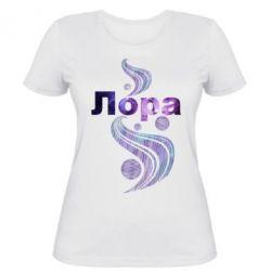 Женская футболка Лора