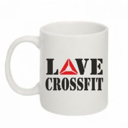 Кружка 320ml Love CrossFit - FatLine