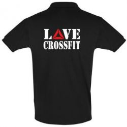 Футболка Поло Love CrossFit - FatLine