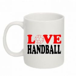 Кружка 320ml Love Handball - FatLine