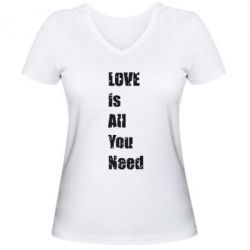 ������� �������� � V-�������� ������� Love is all you need - FatLine