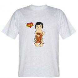 Мужская футболка Love is... Sex :) - FatLine