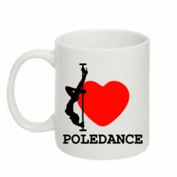 Кружка 320ml Love Pole Dance - FatLine