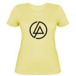 Женская футболка LP logo - FatLine
