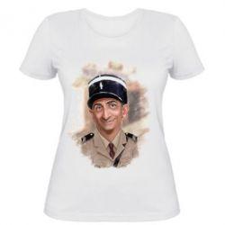 Женская футболка Луи де Фюнес