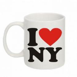 Кружка 320ml Люблю Нью Йорк - FatLine