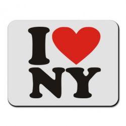Килимок для миші Люблю Нью Йорк - FatLine