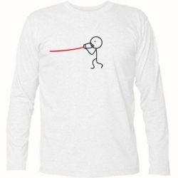 Футболка с длинным рукавом Любовное послание - FatLine