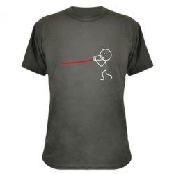 Камуфляжная футболка Любовное послание - FatLine