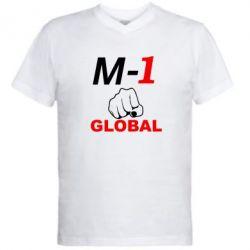 Мужская футболка  с V-образным вырезом M-1 Global - FatLine