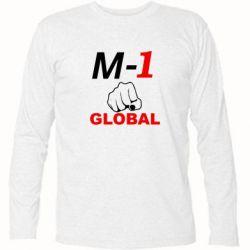 Футболка с длинным рукавом M-1 Global - FatLine