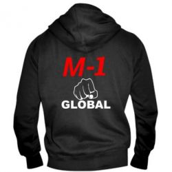 Мужская толстовка на молнии M-1 Global - FatLine