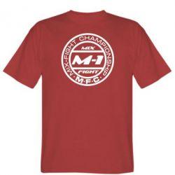 Мужская футболка M-1 Logo - FatLine