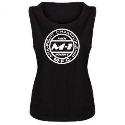 Женская майка M-1 Logo - FatLine