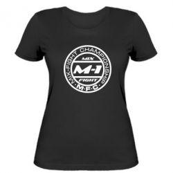 Женская футболка M-1 Logo - FatLine