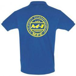 Футболка Поло M-1 Logo - FatLine