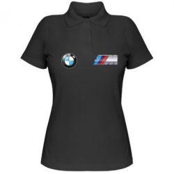 Женская футболка поло M POWER 3D Logo - FatLine