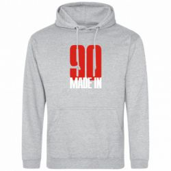 Толстовка Made in 90 - FatLine