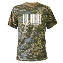 Камуфляжная футболка Made in Japan - FatLine