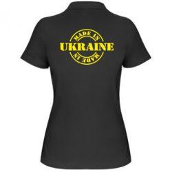 Женская футболка поло Made in Ukraine - FatLine