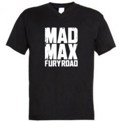 Мужская футболка  с V-образным вырезом MadMax - FatLine