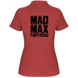 Женская футболка поло MadMax - FatLine
