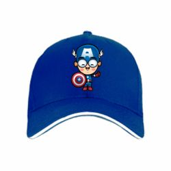 Кепка Маленький Капитан Америка - FatLine