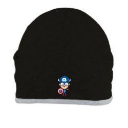 Шапка Маленький Капитан Америка