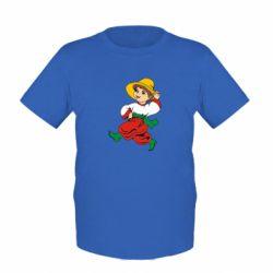 Детская футболка Маленький українець - FatLine