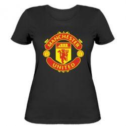 Женская футболка Манчестер Юнайтед - FatLine