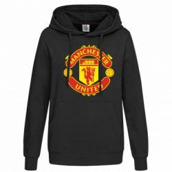 Женская толстовка Манчестер Юнайтед - FatLine