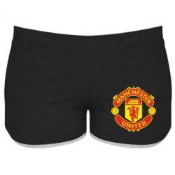 Женские шорты Манчестер Юнайтед - FatLine