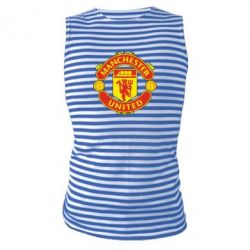 Майка-тельняшка Манчестер Юнайтед - FatLine